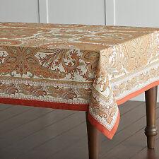 Maison d' Hermine Kashmir Paisley 100% Cotton Tablecloth 60 - inch by 120- inch