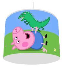 PEPPA PIG GEORGE DINO LIGHT LAMPSHADE KIDS ROOM matches duvet set   FREE P&P