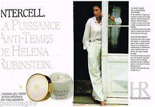 Publicité Advertising 1990 (2 pages) Cosmétique crème Helena Rubinstein