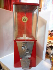 Distributeur de bonbons 25 cents US OAK 25 cents vending machine gumball 70's *