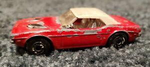 Vintage Matchbox No.1 Dodge Challenger - 1975 - Red -