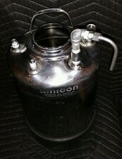 3 Gal. APC 4 Port Pressure Vessel T316 w/Dipleg & Vent fittings