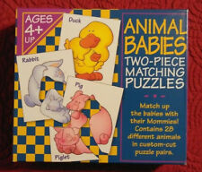 Learning Game of Animal Matching - 28 Pairing Piece Kids Puzzle - 2 Piece Puzzle