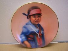 1983 Children of the Pueblo Morning Star Doulton Fine China Plate, Numbered