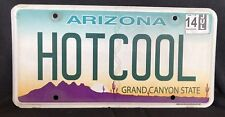 Arizona Vanity License Plate HOTCOOL - Oh So Cool Plate! 👍🏻