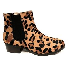 sz 39/8 TS TAKING SHAPE Safari Ankle Boot Comfy Soft Fur leather Urban Rp$200