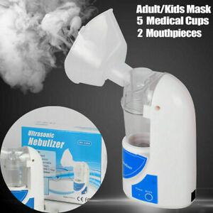 Portable Nebulise Machine Ultrasonic Inhaler Nebulize 25ML UK Plug Respirator UK
