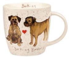 Alex Clark Fine China Squash Mug - Dog - Border Terriers - Full Range in Stock