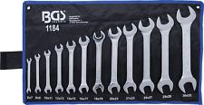 Conjunto de llaves abiertas dobles fija inglesa 12 PC 6- 32 mm BGS
