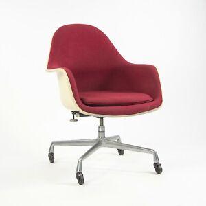 Rare 1977 Eames Herman Miller EC175 Upholstered Fiberglass Shell Chair