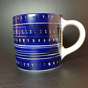 Arabia Finland Mug cup Gunvor Olin-Gronqvist GOG/PR Signed. Années 50 porcelaine
