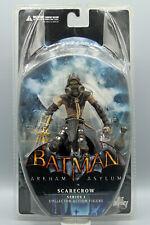 "DC Direct Arkham Asylum Series 1 Scarecrow 7"" Inch Figure 2011 NIB"