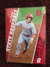 Trea Turner Very 1st Baseball Card Freshman Year NC State 2012 NATIONALS STAR