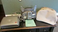 1965 Bolex Paillard 18-5 Automatic 8mm Film / Movie Projector w/Case Manual