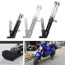 Motorcycle Adjustable Side Tripod Holder Sidestand Durable Alloy Fashion Design