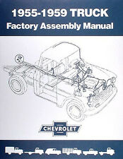 Chevrolet Pickup Truck Assembly Manual 1955 1956 1957 1958 1959 Chevy Factory
