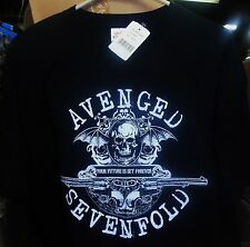Avenged Sevenfold, Forever, Black T-Shirt (Men's XL), BRAND NEW SEALED