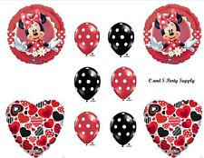 MAD ABOUT MINNIE HAPPY BIRTHDAY PARTY BALLOONS Decorations Supplies Mouse BABY