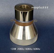 New Ultrasonic Transducer Cleaner Transducer 120W 20KHz/40KHz/60KHz  3 Frequency