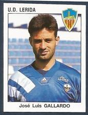 PANINI FUTBOL 93-94 SPANISH -#128-U.D.LERIDA-JOSE LUIS GALLARDO