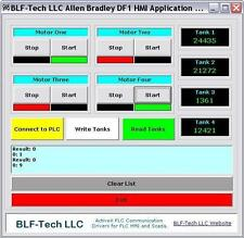 Allen-Bradley SLC & MicroLogix DF1 Serial ActiveX Driver With Sample VB Project