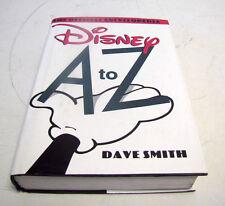 THE OFFICIAL ENCYCLOPEDIA DISNEY  A TO Z        1996 DAVE SMITH
