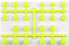 Boccole leggere Sospensioni gialle Fluo If442ky - Kyosho Mp9 Tki4 (ro0016)