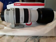 Canon EF 70-300mm F/4-5.6L IS USM #143 with Case & Mounting Bracket - NICE!