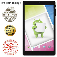 """Nextbook Ares 8A WiFi 8 Touchscreen Tablet PC 8"""" Android 6.0 Black 16GB 1.92GHz"""