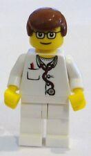 ☀️NEW LEGO Minifig Doctor Male Boy w Stethoscope minifigure mini fig figure