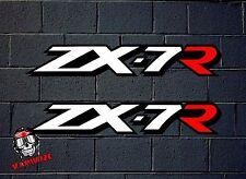 AUFKLEBER AUFKLEBER ADESIVI AUFKLEBER AUTOCOLLANT DECAL ZX-7R ZX7R MOTO