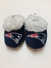 NFL New England Patriots Low Top Baby Booties Infant Slippers Size Small