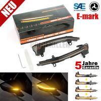 2x LED Blinker Spiegelblinker Blinkleuchte Dynamische Laufblinker For Seat Ateca