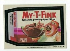 1974 Topps Wacky Packages 7th Series 7 MY-T-FINK PUDDING nm-