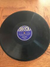 Bing Crosby - Wrap Your Troubles In Dreams 78 RPM Outtake