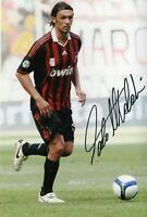 PAOLO MALDINI Foto Autografata Autografo Soccer Coa Signed Sport Milan with COA