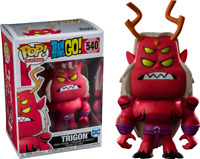 Funko POP VINYL DC Teen Titans Go - Trigon Exclusive Pop