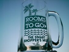 "ROOMS TO GO THE SMART SHOPPER'S MUG   5.5 ""  NICE ONE PALM TREE LOGO"