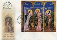 Hungary 2017 FDC Saints & Blesseds Pt V 3v M/S Cover Saint Margit Kinga Stamps