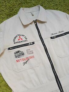 Vintage Mitsubishi Pajero 90's RalliArt Club Off Road Team Suit CoveralI IEV