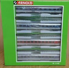 Hornby Arnold HN4220 N 1:160 Set of 4 Konigssee Coaches KINDERLAND Period 5 NEW