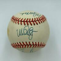 Mark Mcgwire Rookie Era Multi Signed Official 1981 All Star Game Baseball JSA