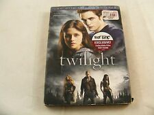 RARE Twilight (DVD, 2009, 2-Disc Special Edition Set HOT TOPIC EXCLUSIVE