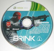 BRINK - XBOX 360 X Box PAL Gioco Game Halo Microsoft 2 3 One