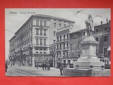 PADOVA Piazza Garibaldi TRAM caffè animata BELLA vecchia cartolina