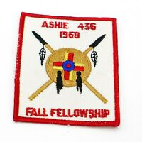 1968 Ashie Lodge 436 Fall Fellowship OA Boy Scout Patch BSA WWW