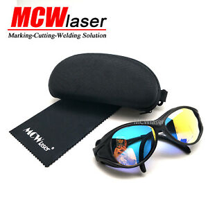 CO2 Laser Safty Protective Goggles Glasses 10600nm 10.6um Engraving Cutting