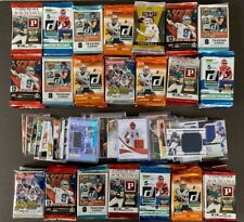 6 Unopened Packs Of Football Cards + 2 Relic Cards (Jersey Or Auto/Autograph)