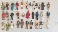 Vintage Star Wars Figures - job lot of 30 pieces genuine Kenner Palitoy