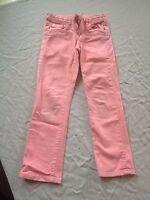 Pantalon Rose à taille réglable, OKAIDI. Fille 7-8 Ans.